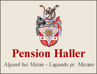 Pension Haller in Algund bei Meran
